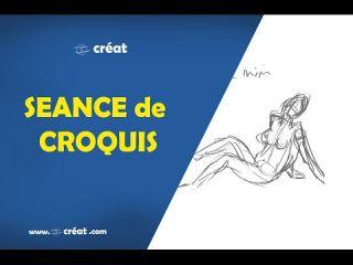 DESSIN - Séance de Croquis ( photoshop )