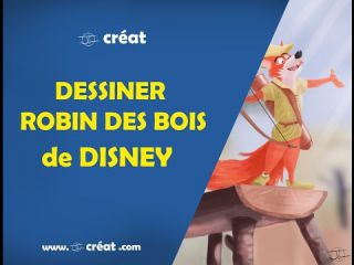 DESSINER Robin des bois de DISNEY ( speed painting photoshop )