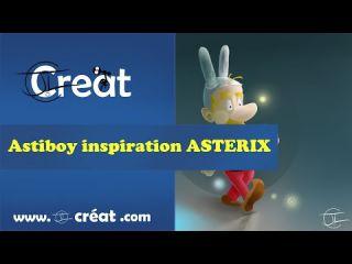 Panting - Astiboy inspiré fortement d'Asterix :)