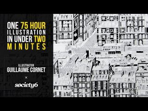 Society6 Presents // Illustrator Guillaume Cornet