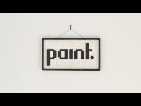 Il peint à la façon de Mondrian sur des Legos !