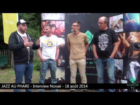 Interview de Novaé par Kowok (Festival Jazz au Phare)