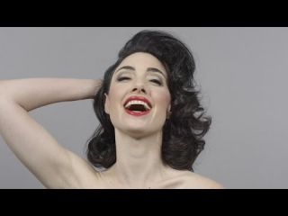 100 Years of Beauty in 1 Minute