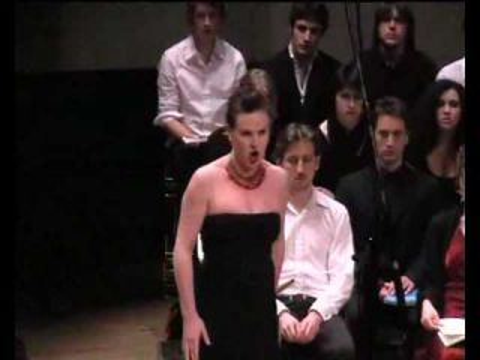"""Céline Madrènes chante """" La reine de la nuit """" ( Königin der Nacht )"""