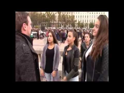 Street hypnose / Hypnose de rue : Séance à Lyon en groupe de 3 {partie 2}