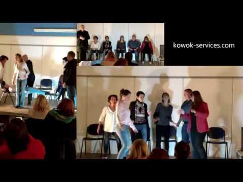 Spectacle d'hypnose de Jean-Philippe Rossy sur Kowok Services