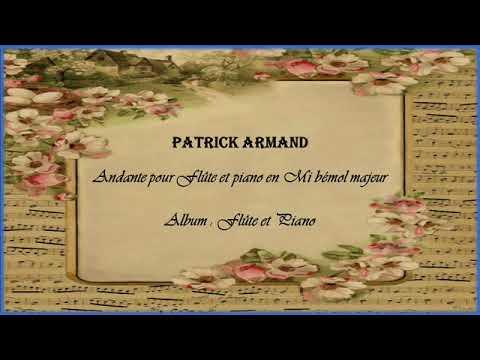 Andante pour Flûte et Piano