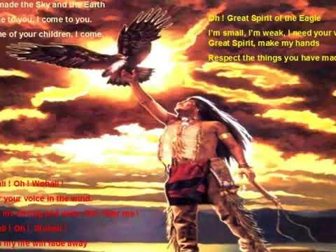 Cherokee Prayer extrait du RÊVE DE CHUMANI   Libera CASTELLUCCIA SALVATORE - Musique Patrick ARMAND