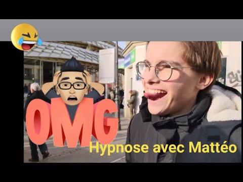 Hypnose de rue avec Mathéo