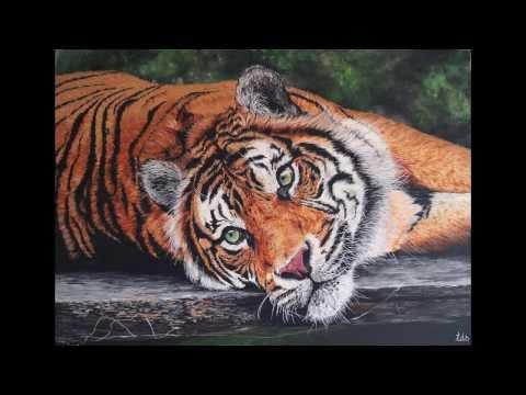 Paint in progress (Tiger)
