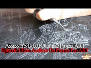 Assassin'S Creed Ultimate Project ART Episode 3 Ezio Auditore Da Firenze Fan ART