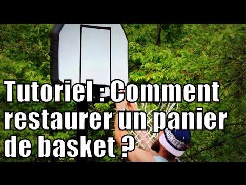 Tutoriel : comment restaurer un panier de basket / DIY : how to restore a basketball hoop