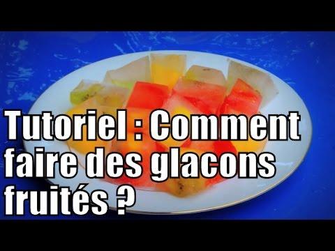 Tutoriel : comment faire des glaçons fruités / DYI : how to make fruity ice cubes