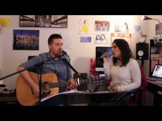 John Legend - All of me (acoustic cover Judith Lay & Damien Covers)