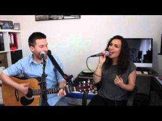 Matt Simons - Catch & Release (acoustic cover Judith Lay & Damien Covers)