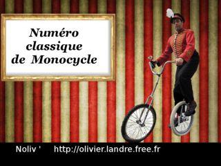 Numéro de MONOCYCLE - Olivier Landre - Noliv'