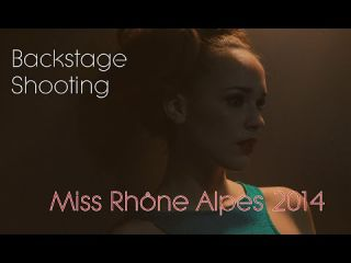 Aurore Thibaud - Backstage Shooting photo - (Miss Rhône Alpes 2014)