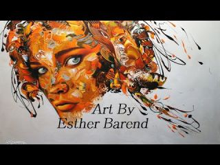 Esther Barend, un univers visuel unique (Artiste Peintre)
